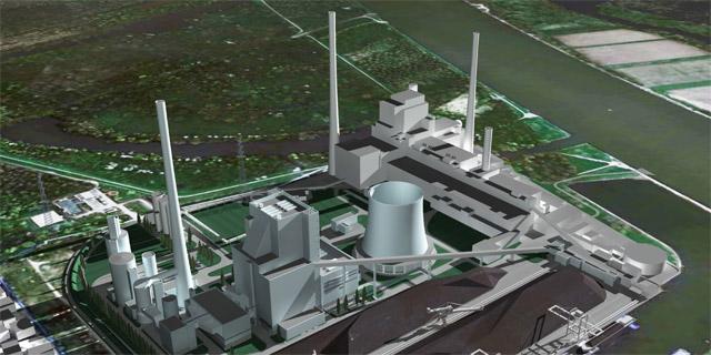 EnBW coal power plant Karlsruhe