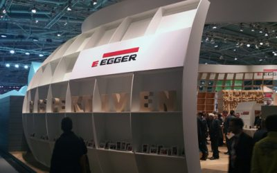 Booth of Egger Holzwerkstoffe Wismar GmbH & Co.KG
