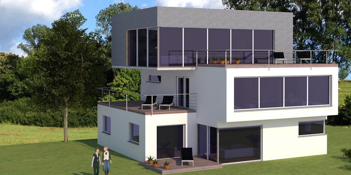 Passive house Langensteinbach